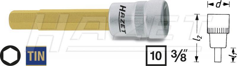 "Hylsa 3/8"" Insex 11mm"
