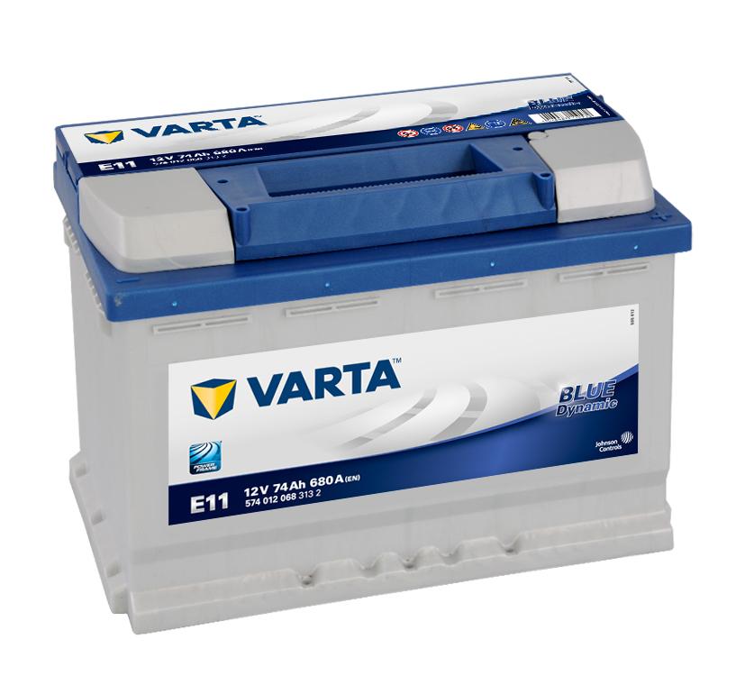 Batteri E11 Blue Dynamic