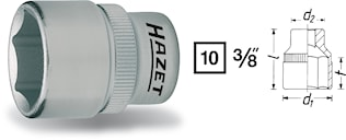 "Hylsa 3/8"" 8mm"