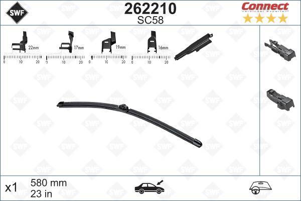 Flatblade SC58 580