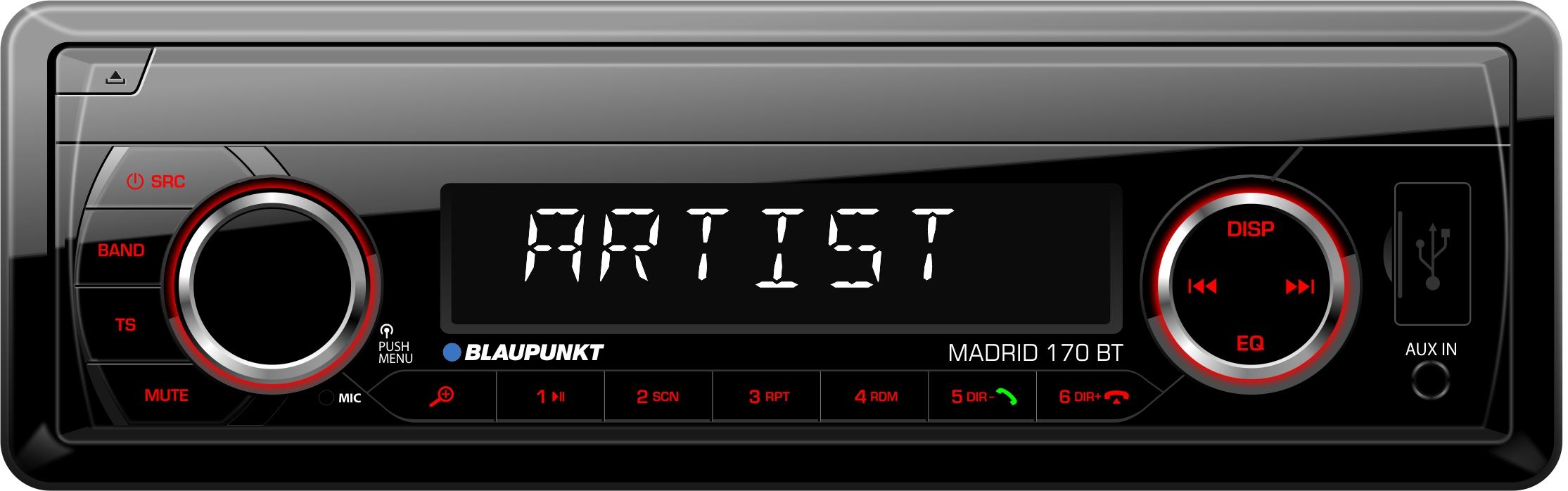 Bilstereo Madrid 170 BT