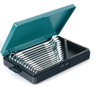 Blocknyckelsats 8-19mm i låda