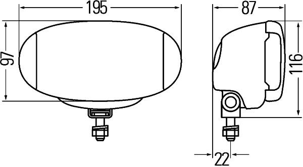 Extraljus Comet FF 550