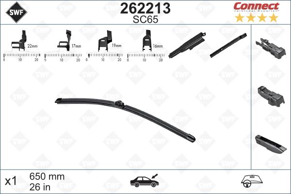 Flatblade SC65 650