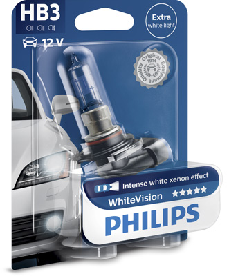Halogenglöd HB3 WhiteVision
