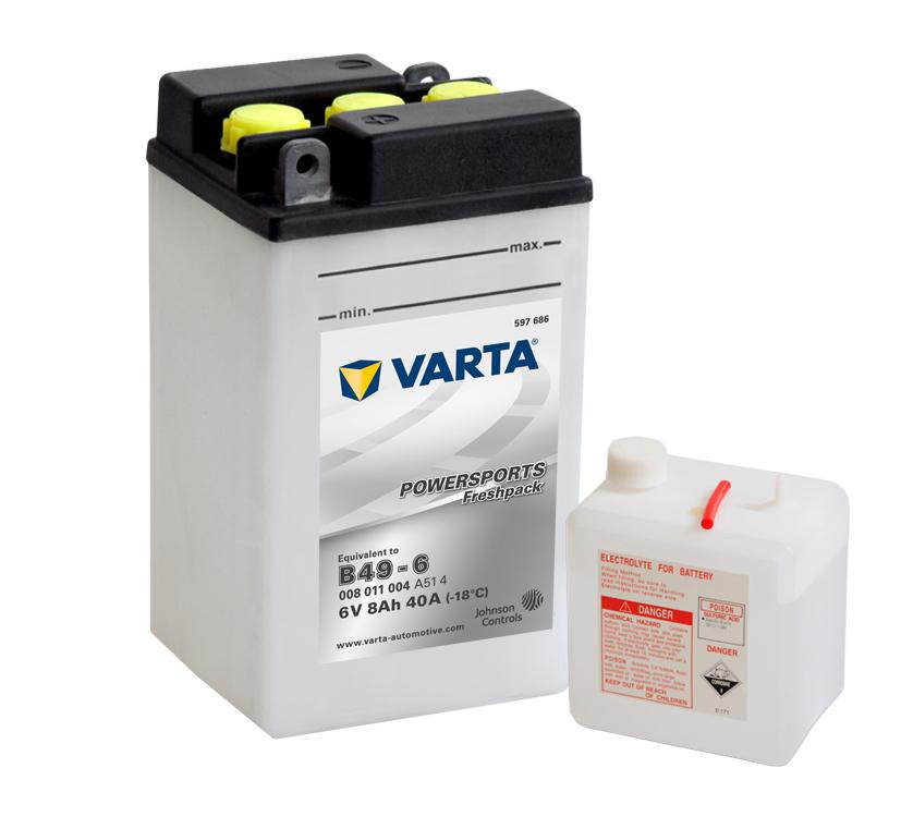 Batteri 8Ah MC Fresh pack 6V