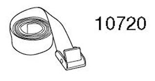 Spännband för takbox, 2,2 m