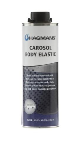 Carosol Body Elastic Svart 1 L