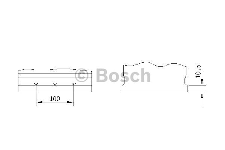 Batteri S4 026 Bosch 70Ah
