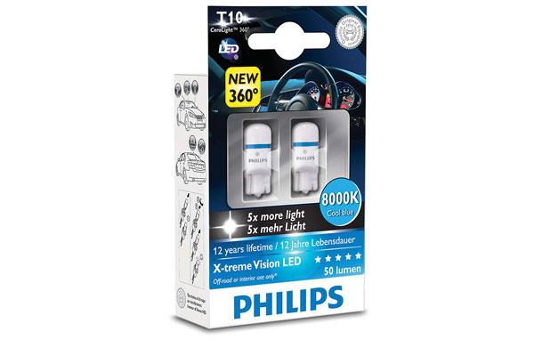 LED-lampa 12V T10