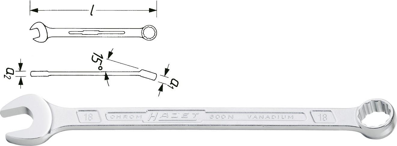 Blocknyckel 26 mm