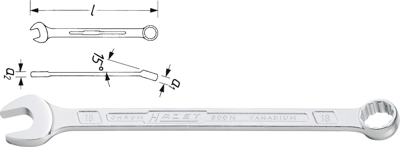 Blocknyckel 36 mm