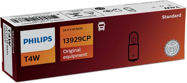 Glödlampa 24V 4W BA9s