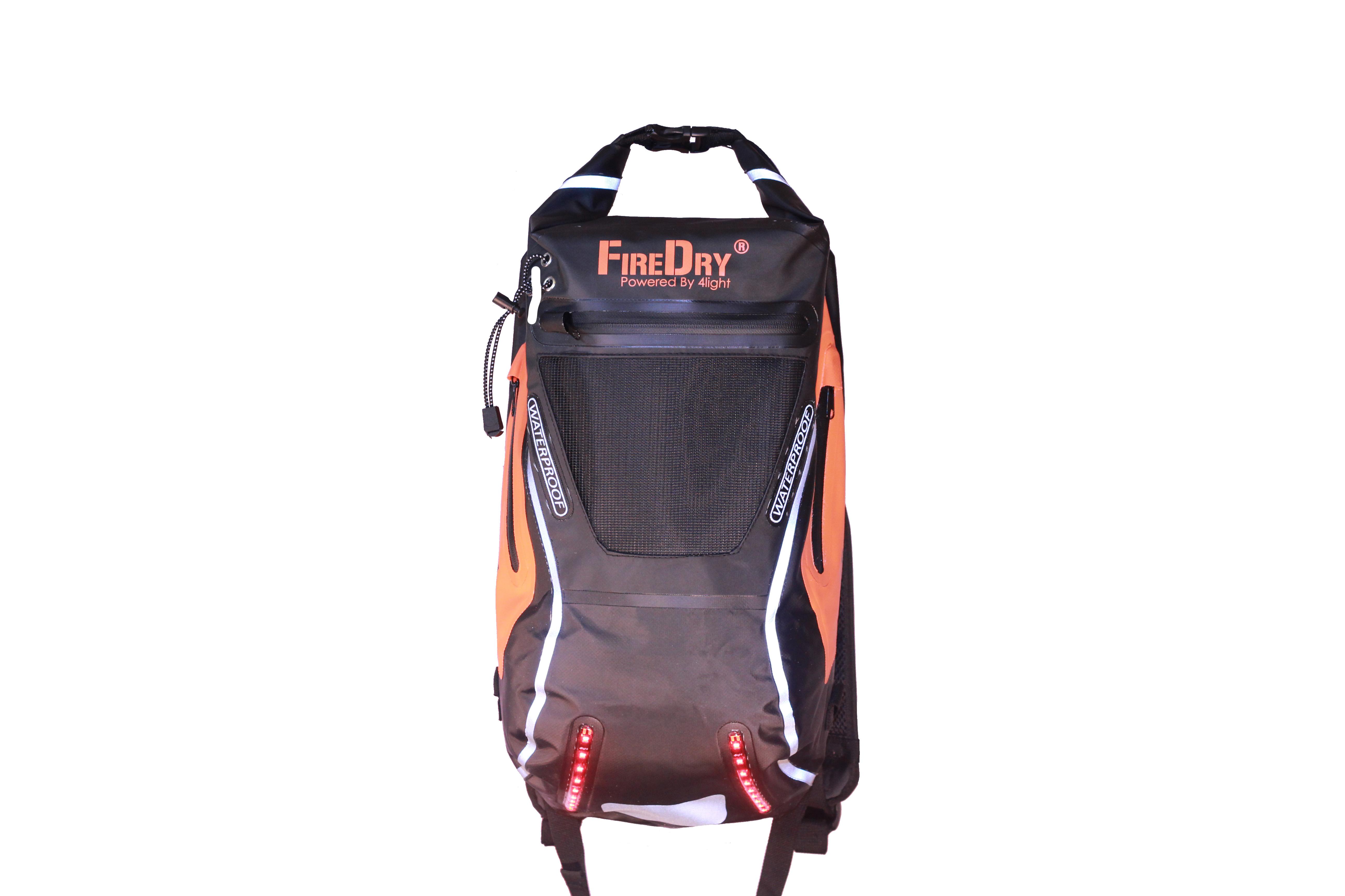 Ryggsäck Firedry svart/Orange