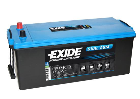 Batteri Dual AGM 240Ah