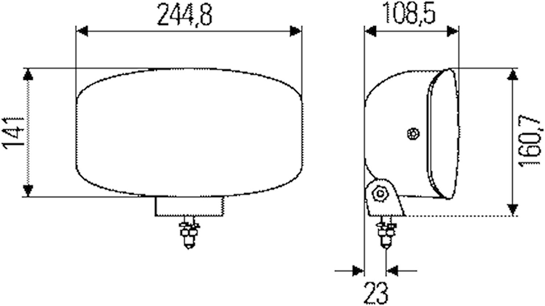 Extraljus Jumbo 320 FF