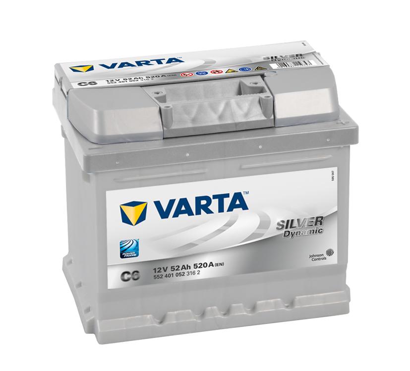 Batteri C6 Silver Dynamic