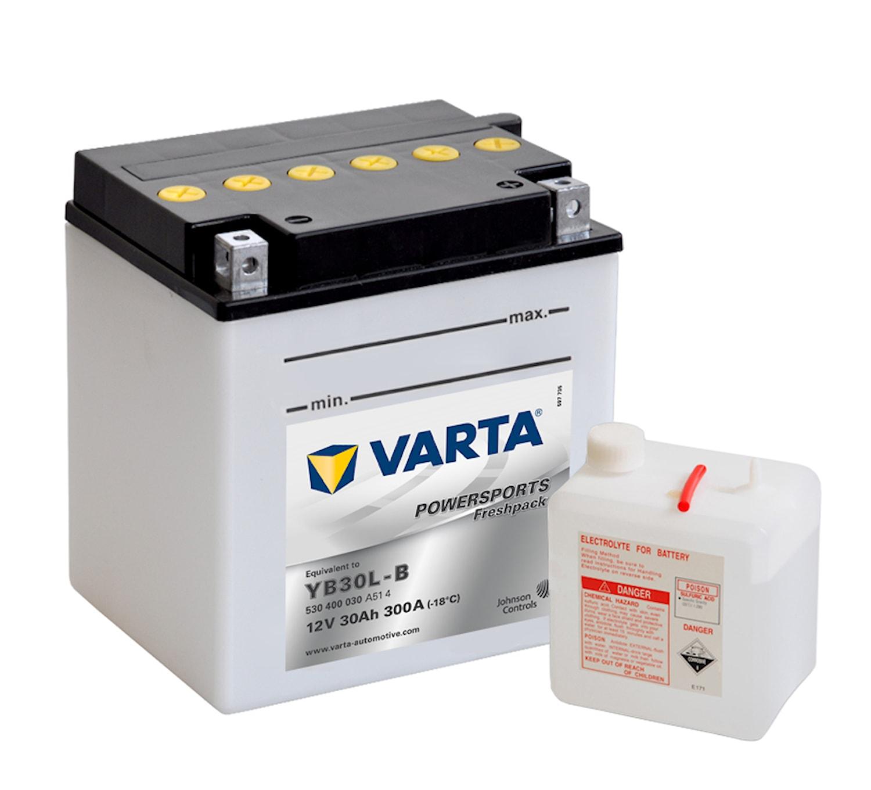 Batteri 30Ah MC Fresh pack