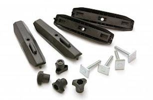 Takboxadapter aluminiumrör