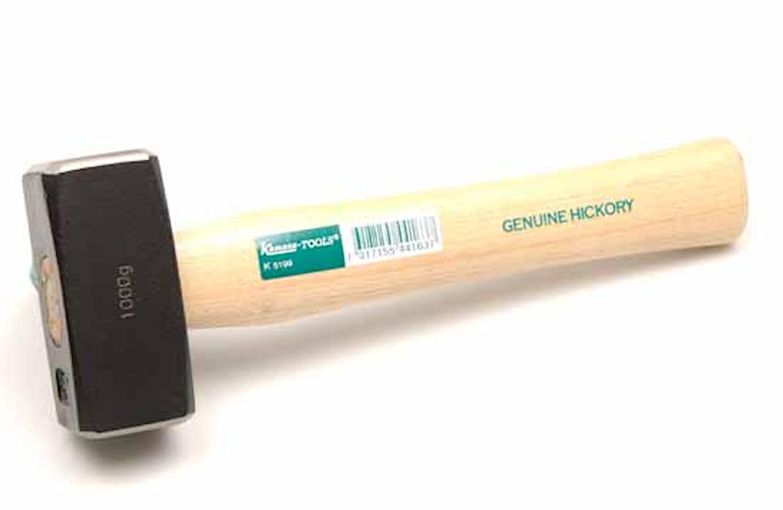 Handslägga hickoryskaft 1000 g