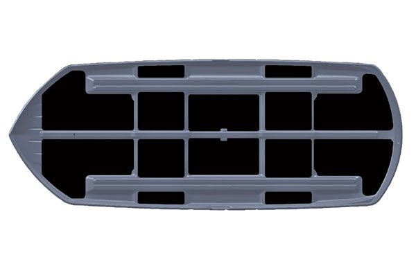 Takbox Dynamic M800 blanksvart