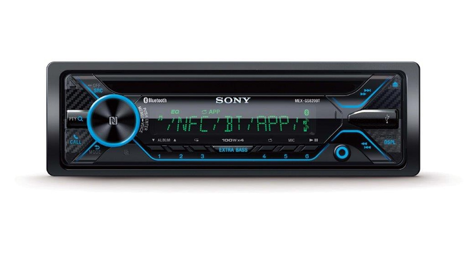 Bilstereo CD/Radio/BT/USB