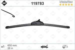 Flatblade 650mm Enkelpack