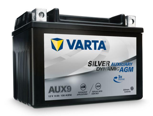 Batteri AUX9 Varta AUX 9Ah