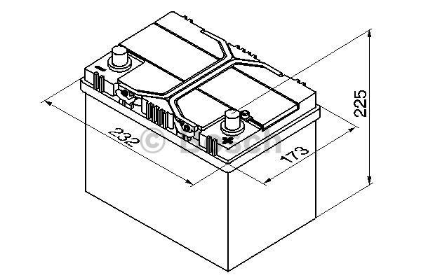 Batteri S4 024 Bosch 60Ah