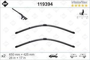 Flatbladesats 650/425