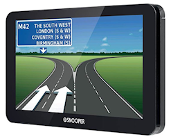 Portabel navigation  för campingfordon - Husbil & Personbil med Husvagn