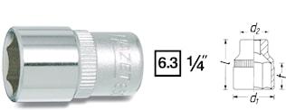 "Hylsa 1/4"" 8 mm"