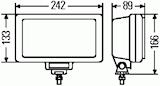 Extraljus Jumbo 220
