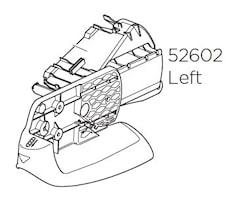 Lamphållare vänster VC 925/927