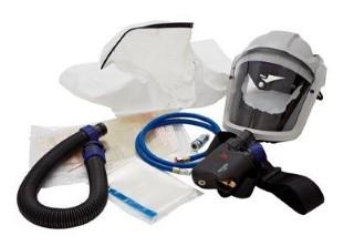 Visir friskluft komplett kit