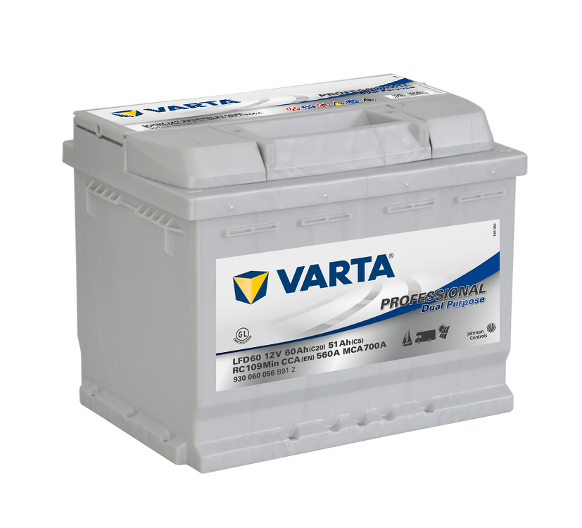 Batteri LFD60 Prof. DC