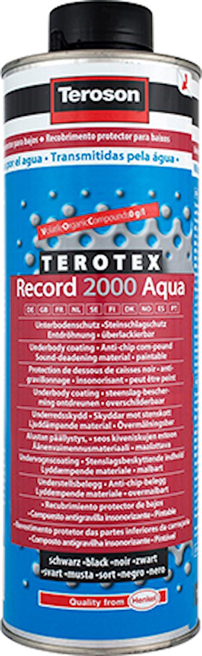 Teroson WT R2000 BK AQU BO1L