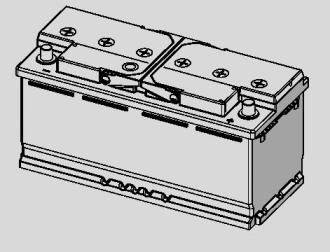 Batteri I1 Silver Dynamic
