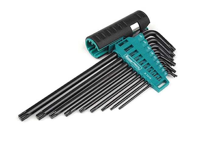 Torx nyckelsats T10-T50