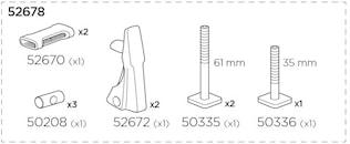 Monteringspåse TH 598