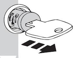 Uttagsnyckel One-Key-System