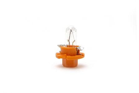 Glödlampa 12V 1,1W BX8,4D