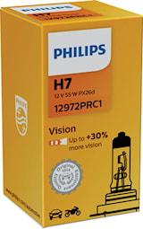 Halogenglödlampa H7 Vision 12V