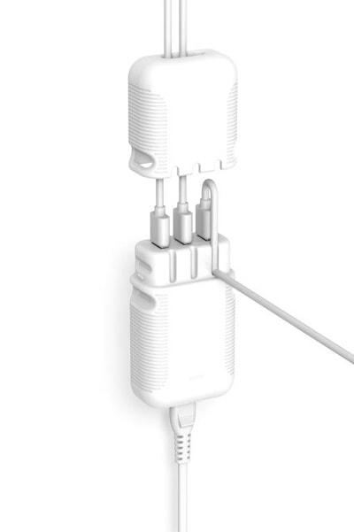 USB laddare 7,2A 3xUSB 220V V