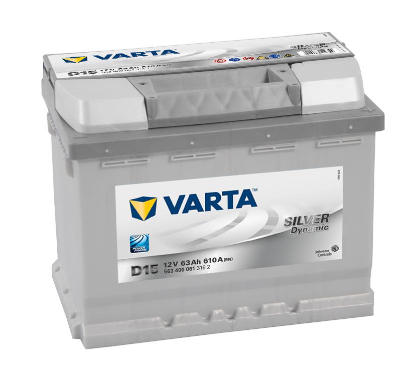 Batteri D15 Silver Dynamic