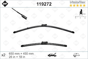 Flatbladesats 650/450