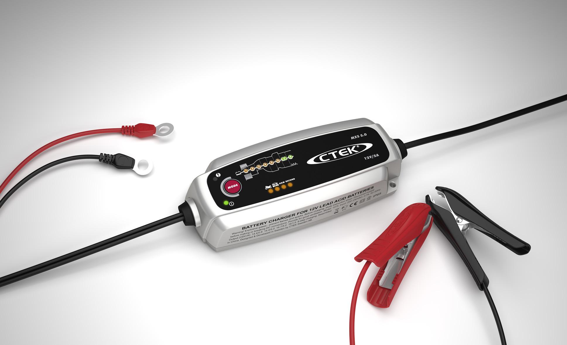 Batteriladdare MXS 5.0 12 volt