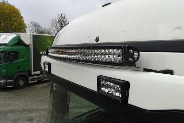 "Extraljusramp LED RDS PRO-40"""