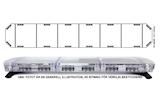 Blixtramp LED FX1 1135AC 197cm