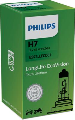 Halogenglöd H7 LongLifeEco 12V